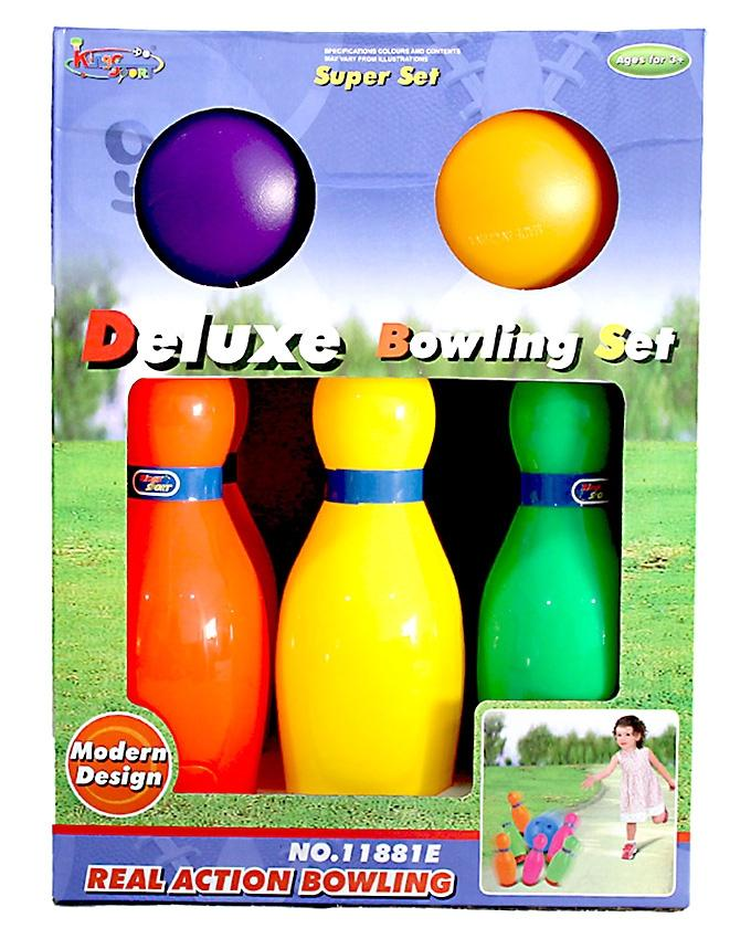 Deluxe Bowling Set For Kids - Multicolor