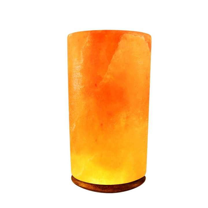 Himalayan Salt Lamp Cylinder Shape (Large)