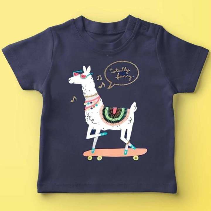 Totally Fancy Horse - T-Shirt for Boys & Girls- Blue
