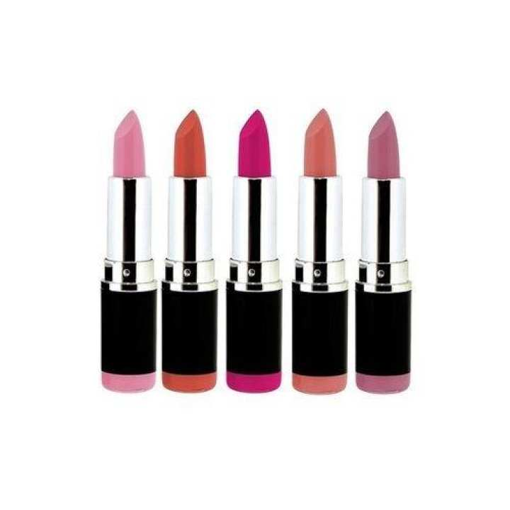 Pack Of 5 - Pro Pink Lipstick Collection