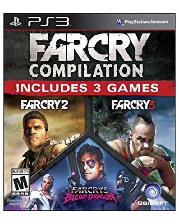 Pack Of 3 - Far Cry Compilation - PS3