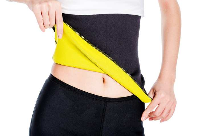 Unisex Hot Body Shaper, Neoprene Slimming Belt, Tummy Stomach Fat  Best Abdominal Trainer, Workout Sauna Suit, Weight Loss