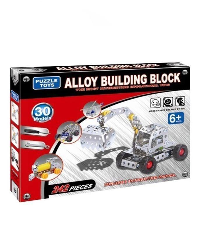 Alloy Building Blocks - 30 Models - Multicolor