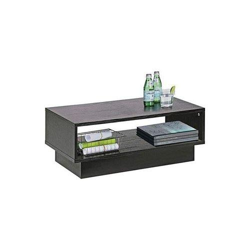 Coffee Table With Shelf   Black