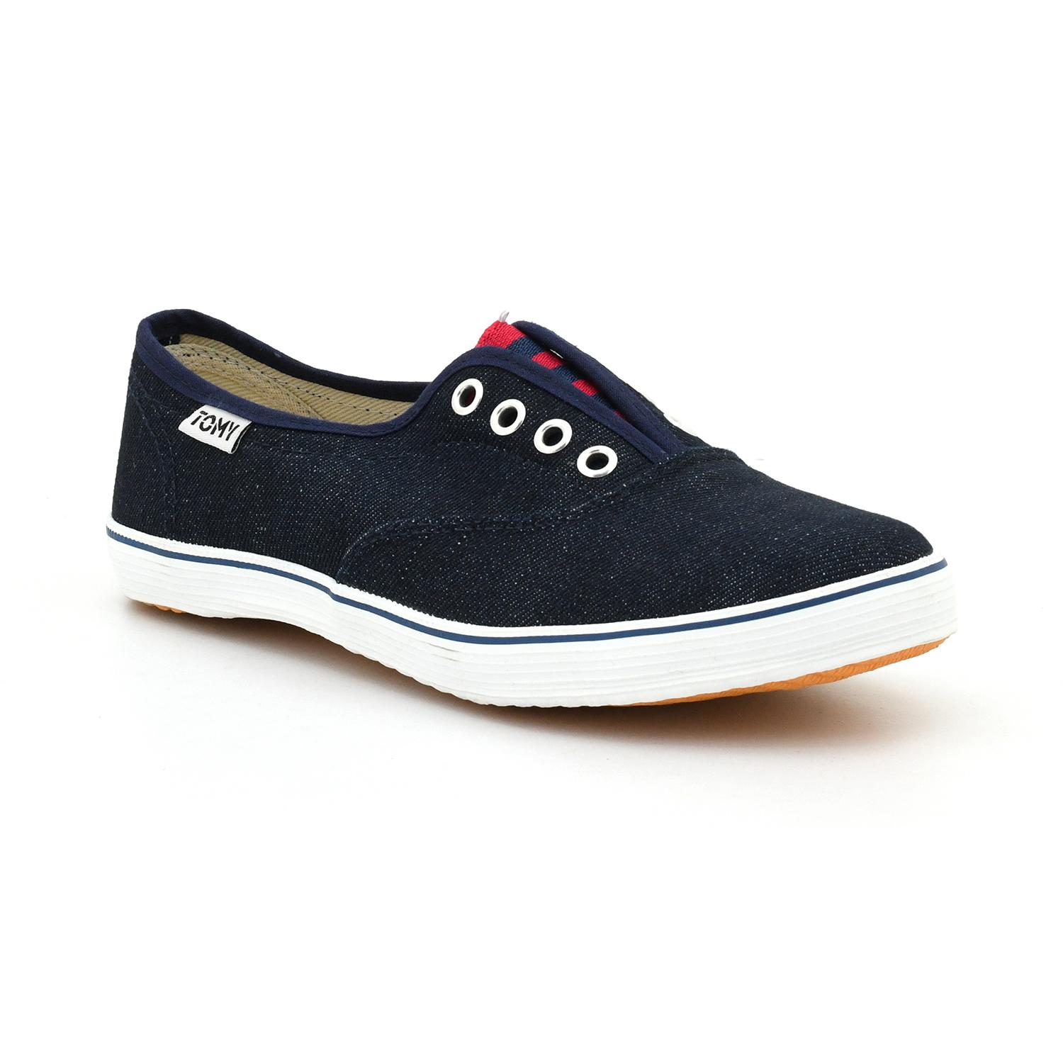 info for e16a0 c3aa9 Tomy Takkies Navy Blue Canvas Lifestyle Shoes For Women 5899093