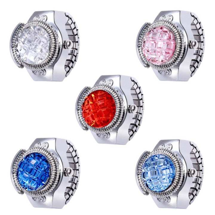 Stone Ring Watch - Multicolor