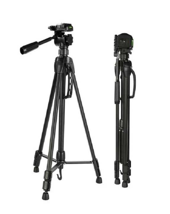 Heavy Duty Tripod For Camera - 3120 - Black