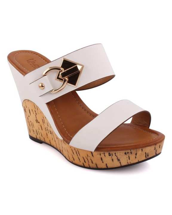 Nilla Cork Wedge Heel Sandals for Women L29526