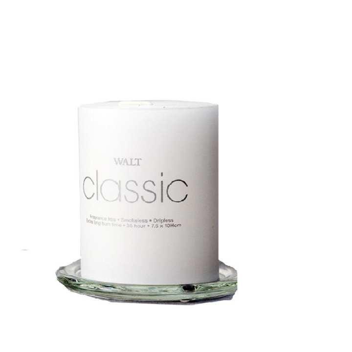 Walt Classic 2x3 Inch Pillar Candle - White