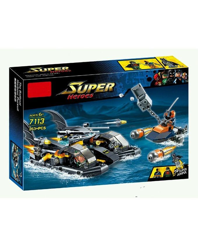 Batman Building Blocks - Batboat Harbour Pursuit