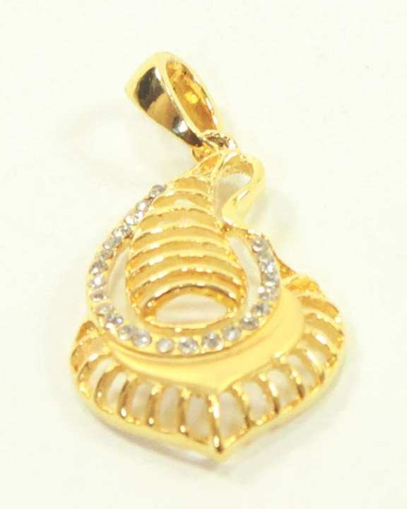 Golden Pendant Without Chain