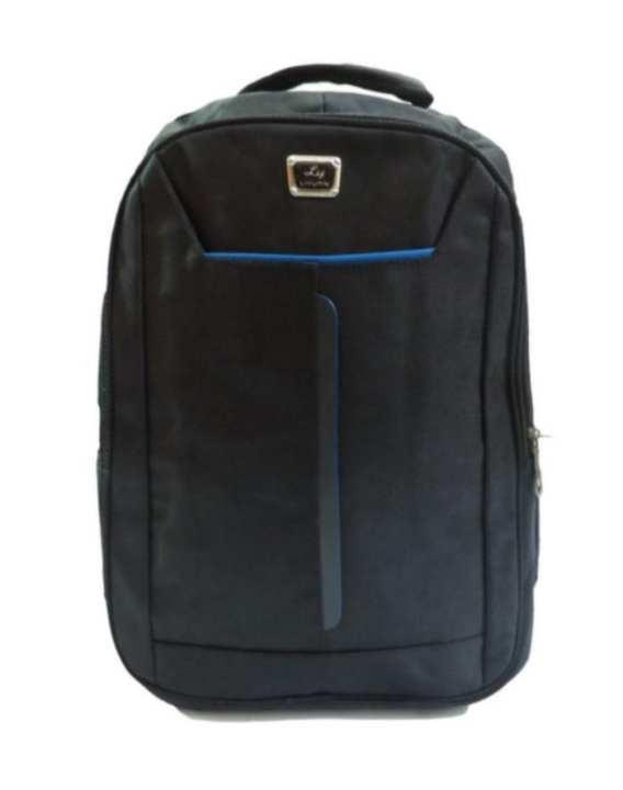 Large Capacity School Bag - Laptop Backpack - Black