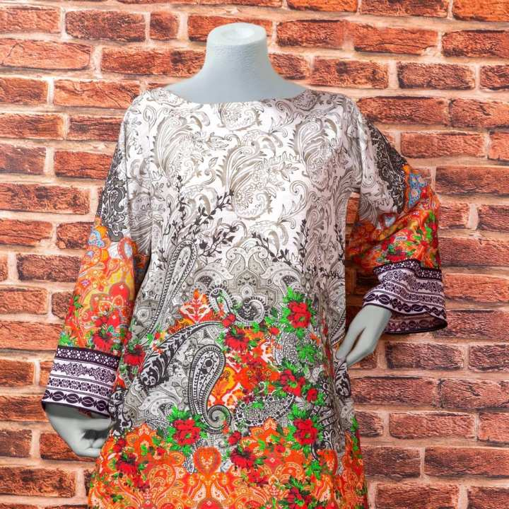 Eminent Digital Printed Khaddar Unstitched Winter Kurti - Misty by Chase Value Centre