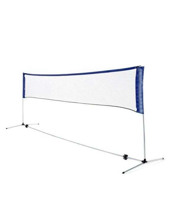 LQ 1002 - Badminton Net - White & Blue