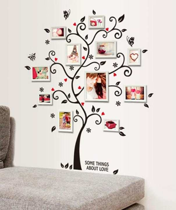 3D DIY Removable Photo Tree Pvc Adhesive Wall Stickers