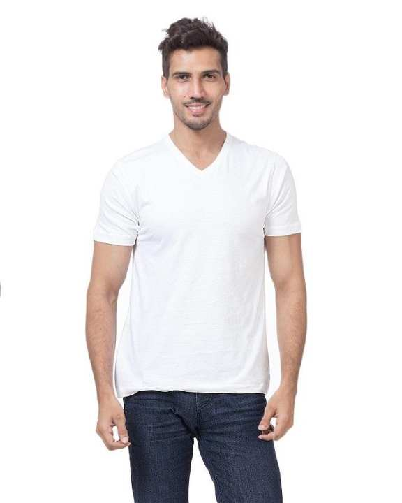 White Cotton Shirt For Men