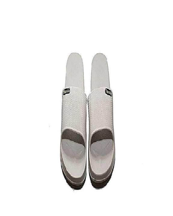 Cream Rubber Slippers For Men