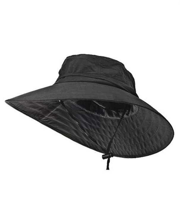 Outdoor Sun Protection Hunting Fishing Safari Bucket Sun Hat with Adjustable Strap