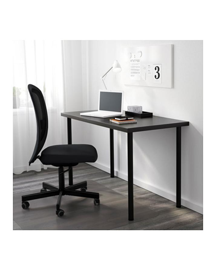 Wooden Study Office Desk Black
