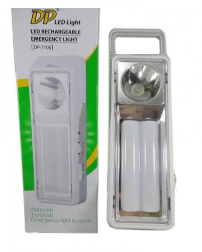 LED7106 - LED Rechargeable Emergency Light - White