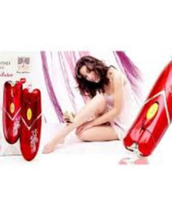 Km-1107 3 In 1 Luxuries Professional Rechargeable Women Epilator Hair Shaver Hair Removal Trimmer Hair Remover Machine