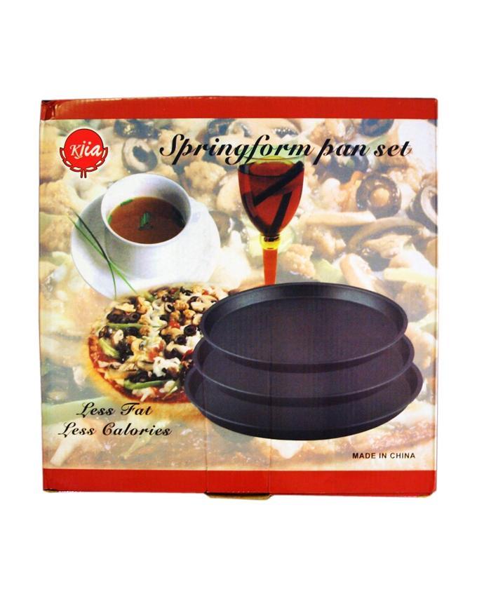 3 Pcs Set - Pizza Pan