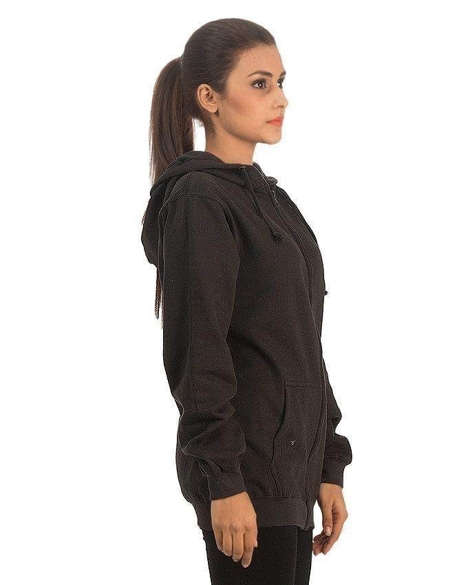 Black - Fleece - Hoodie for Her