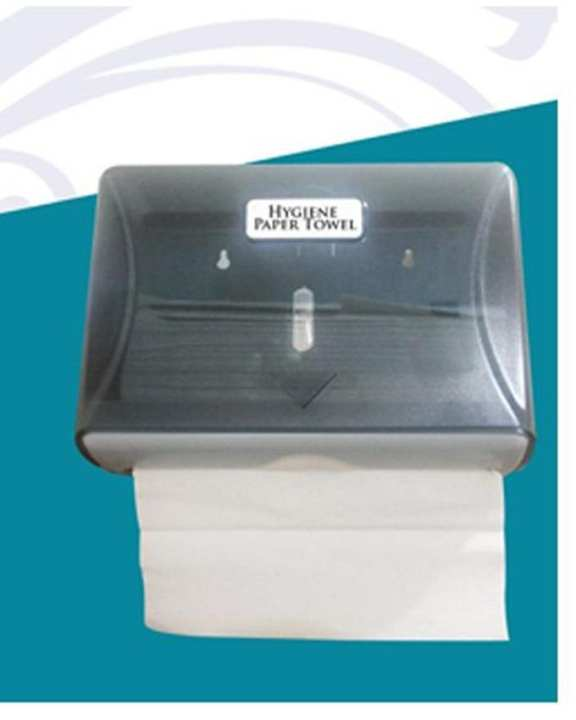 Tissue Paper Towel Dispenser - Grey