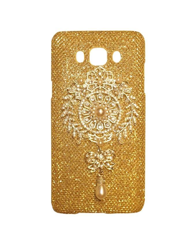 Xocorol Luxury Diamond Case For Samsung J5 - Gold
