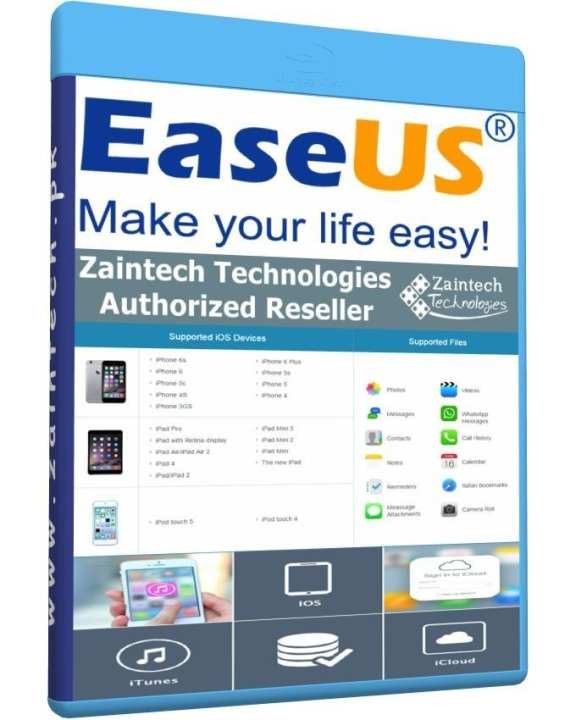 EaseUS MobiSaver - Windows - Data Recovery For iPhone - iPad - iPod touch