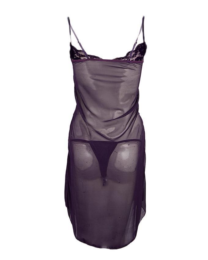 Purple Net Nighty for Women