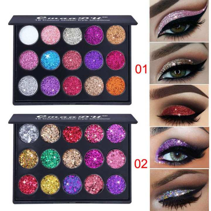 Women Shimmer Glitter Eye Shadow Powder Palette Matte Eyeshadow Charming Makeup