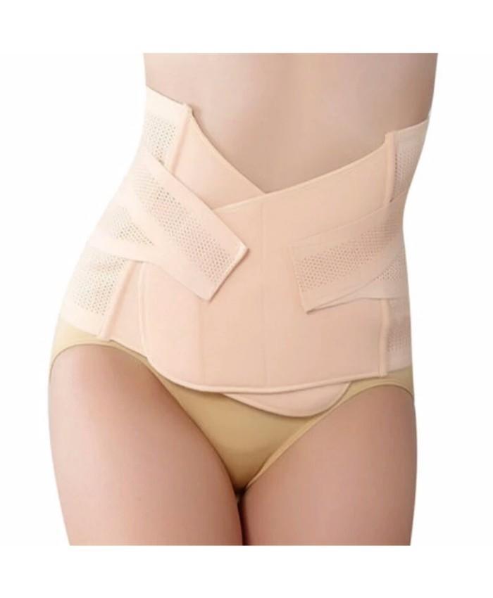 bbd35a3c4 Beige Post Pregnancy Waist Recovery Belt Shaper For Women