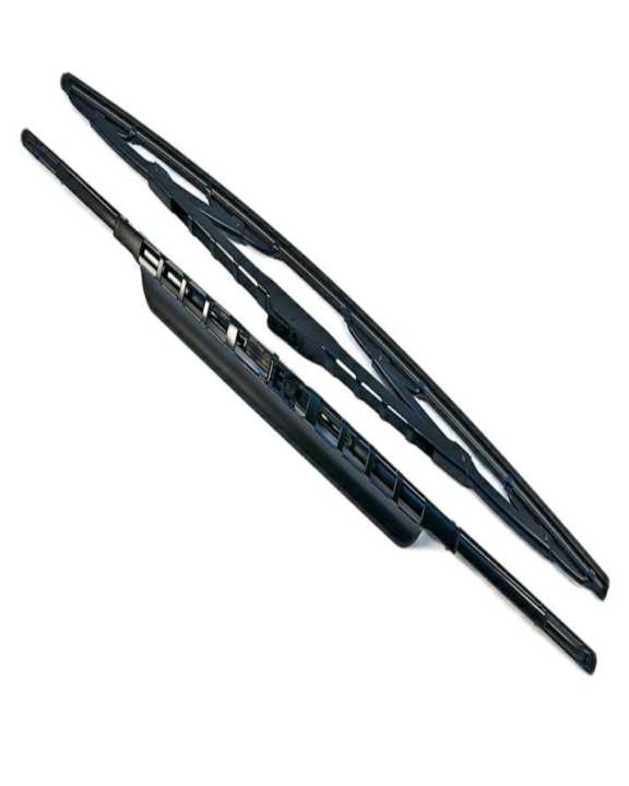 Toyota corolla gli Pack of 2 - Soft Wiper Blades For Car - Black