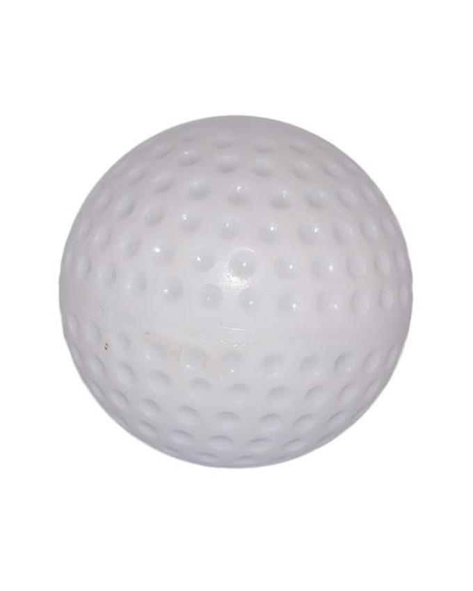 White Hockey Ball Standard Size