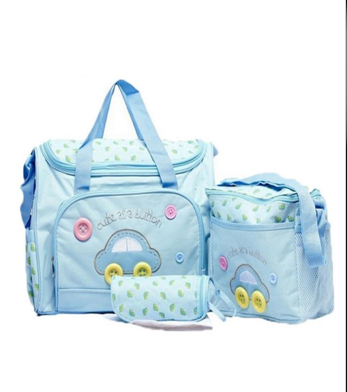 Diaper Baby Bag Set 3 Pcs