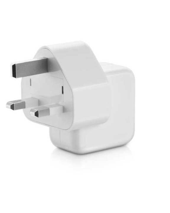 Charger for Apple iPad with 3pin & 2 pin dock - 12W - White