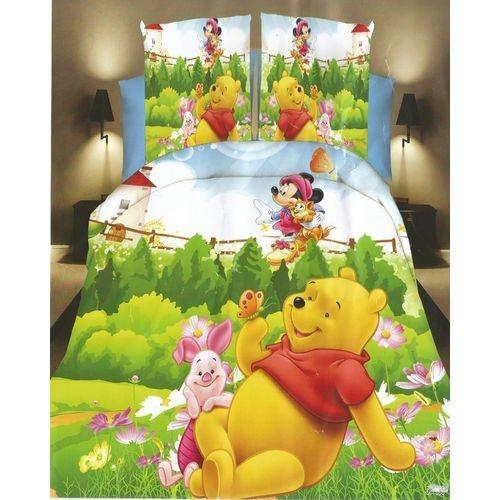 Kids Bed Sheet Cartoon Character   3D Design Single Bed For Boys