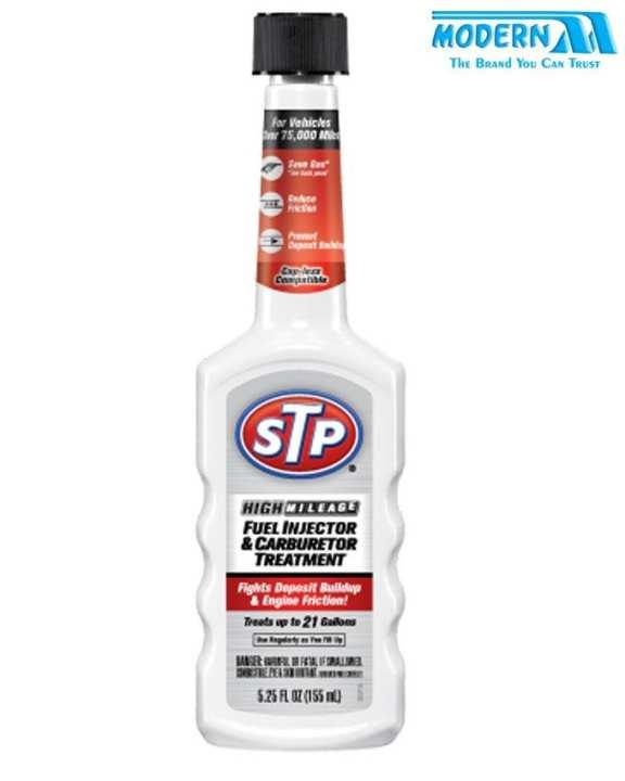 Fuel injector & carbureator treatment STP 155ml