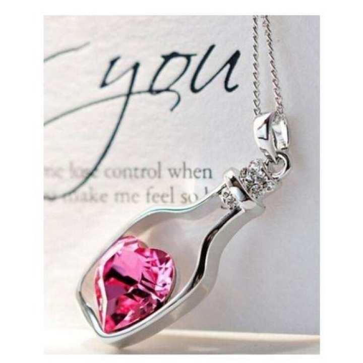 Pink Exclusive Pendant Necklace for Women - TM-PN-10-Pk - Jewellery