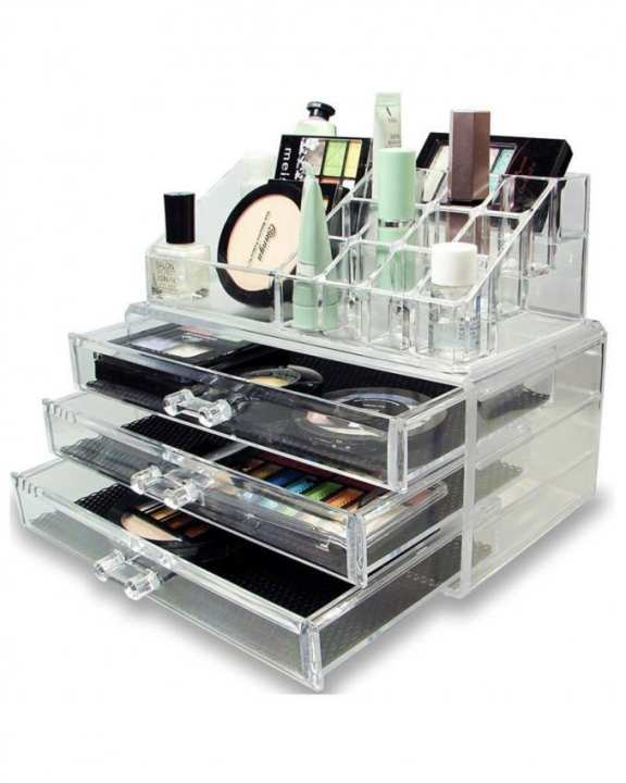Jewellery , Make Up & Cosmetic Storage display Stand and organizer BOX