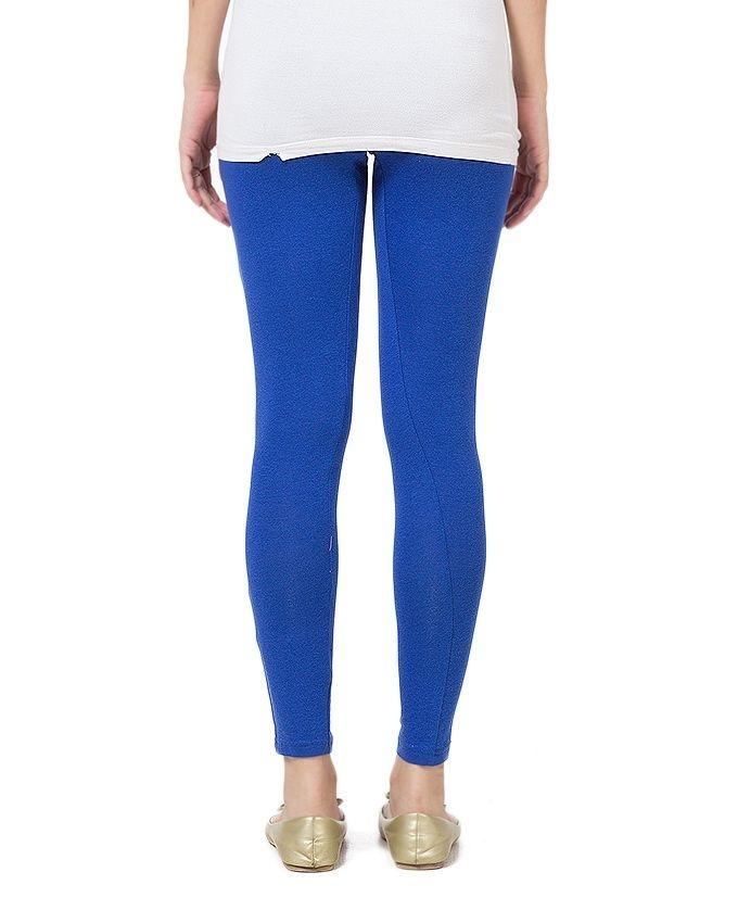 Royal Blue Skin Fitted Tights For Women - FA0291