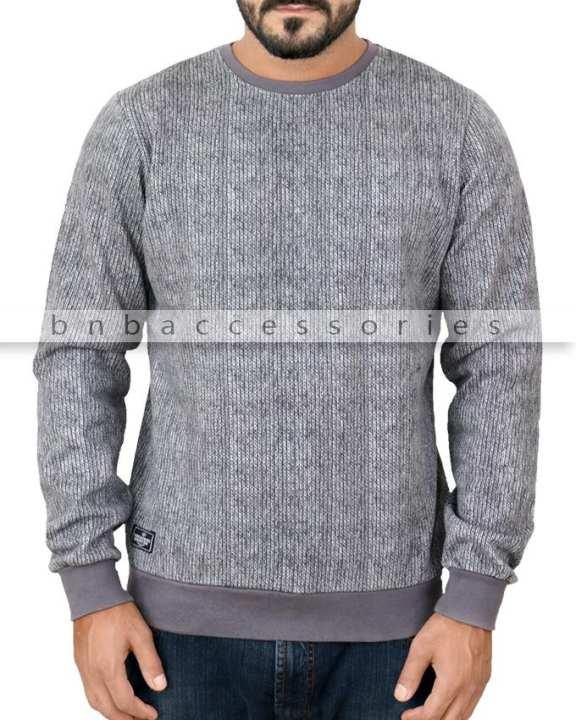 Threadbare Grey Fleece Sweatshirt
