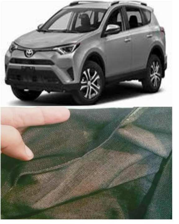 Toyota Rav4 Top Cover -Jeans