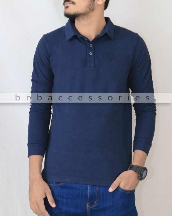 Rifle Navy Blue Polo Shirt for Men