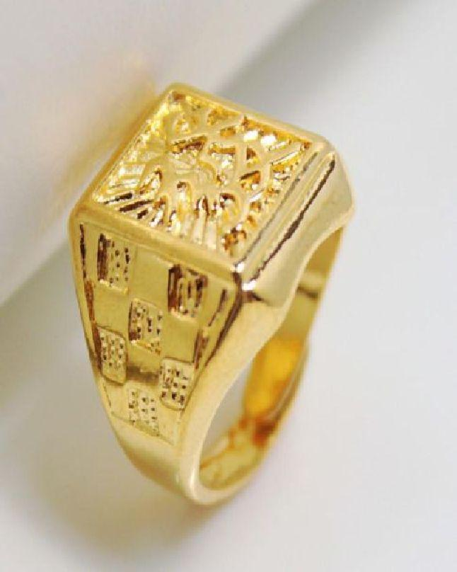 a42370b06 Gold Plated Challa Ring Men: Buy Online at Best Prices in Pakistan ...