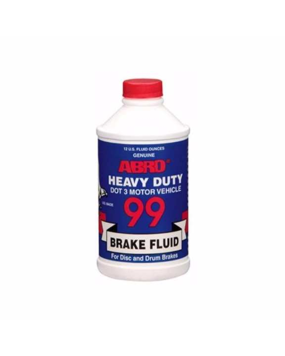 Dot 3 Brake Fluid - 12 OZ/354mL