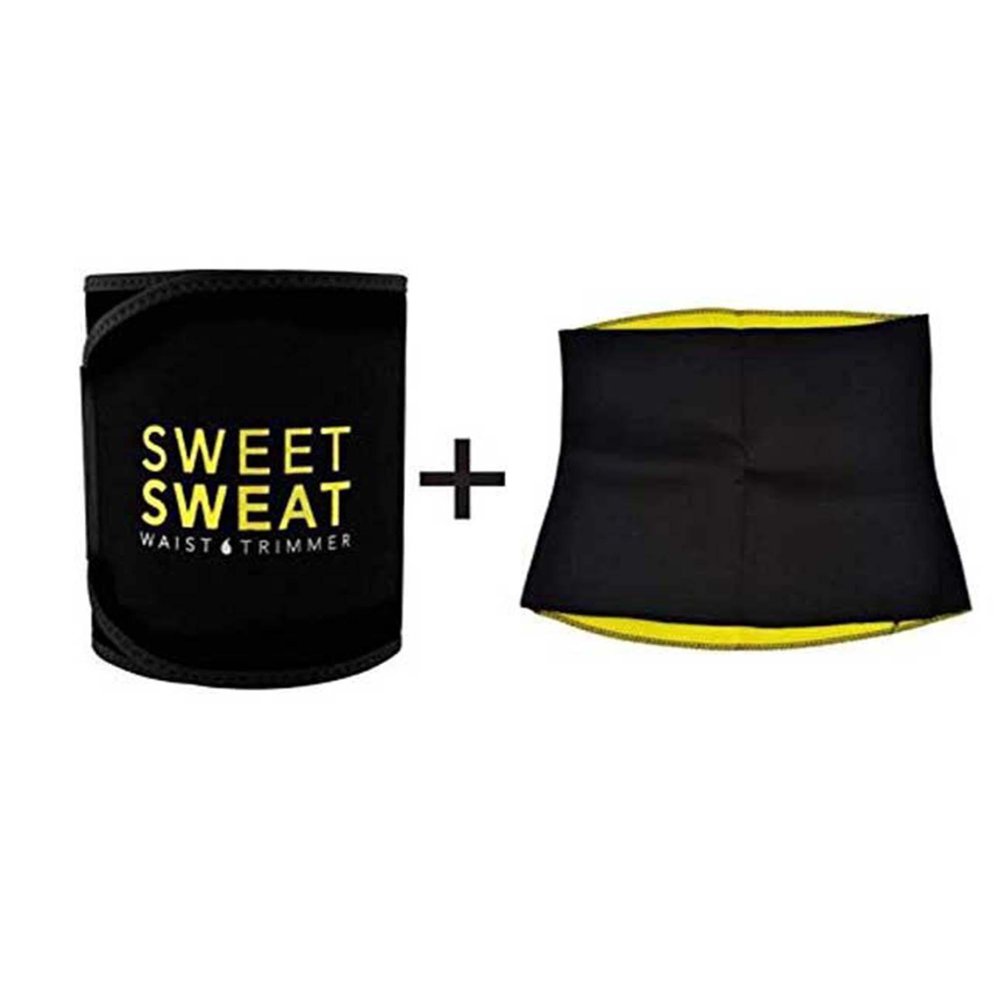 3205d52b7e163 Pack of 2 SWEAT WAIST TRIMMER Hot Waist Shaper Belt Instant Slim Look Belt  for Men