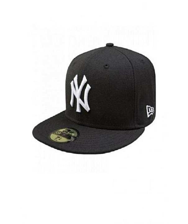 Ny Black Cap For Men