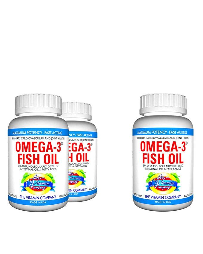 952328b5cb4 Pack of 3 - Omega Fish Oil